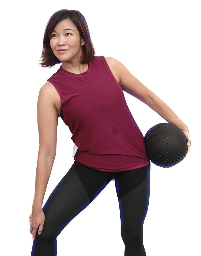 Ng, who is around 65kg now, feels much happier as she feels stronger and more energetic.