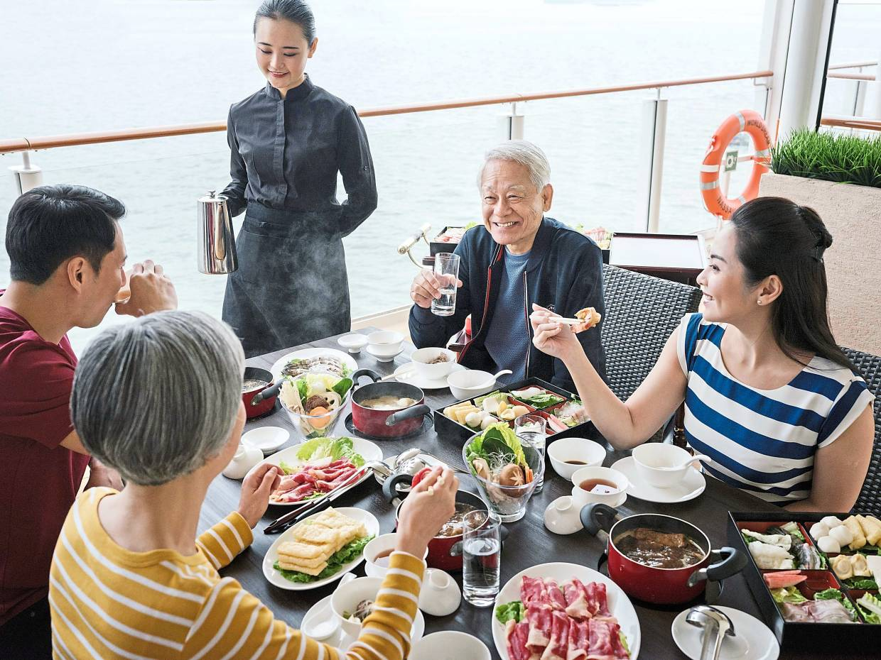 A successful multigenerational holiday has to consider the needs and mobility of the more senior family members. — Genting Cruise Lines