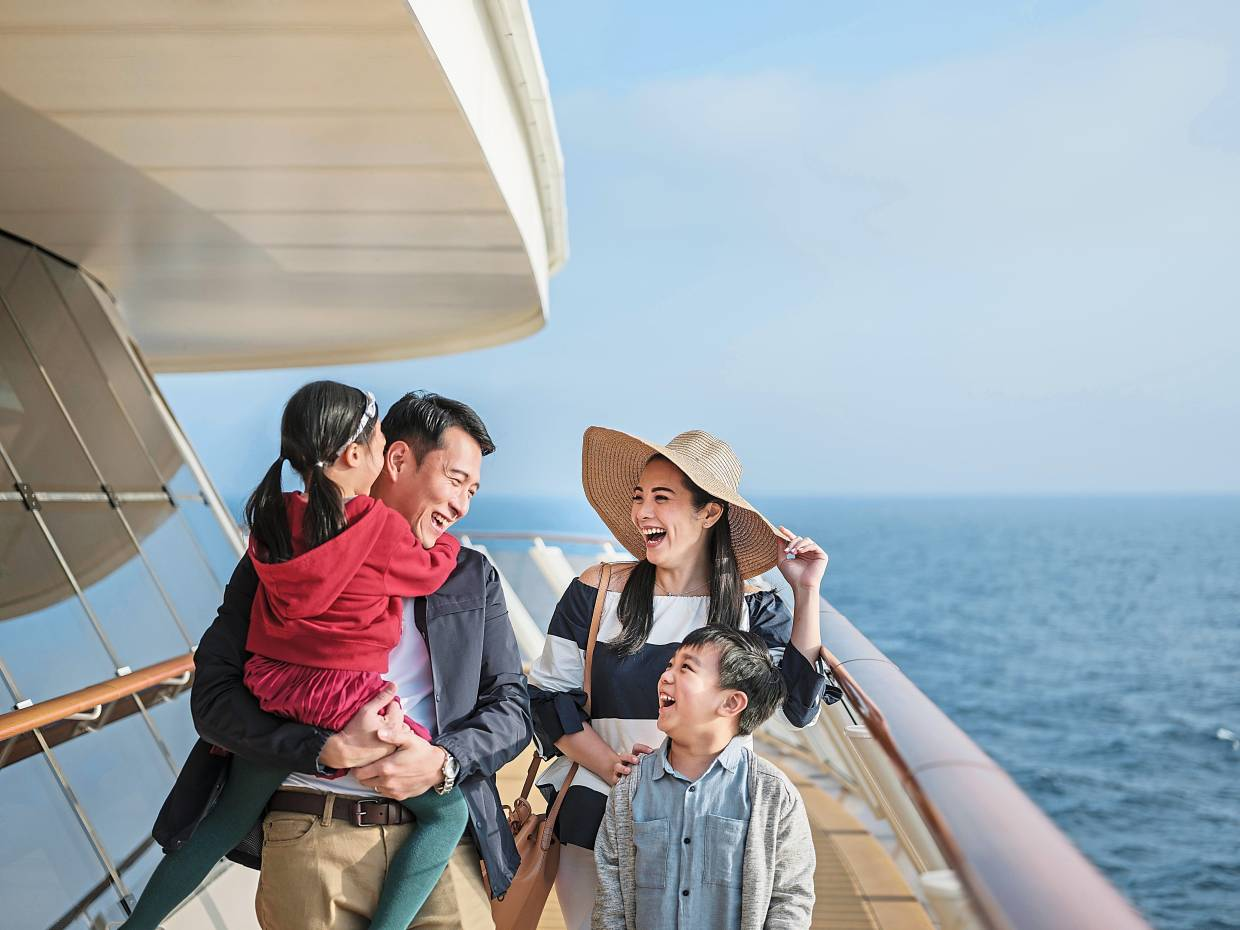 A cruise is a good option for a multigenerational holiday. — Genting Cruise Lines