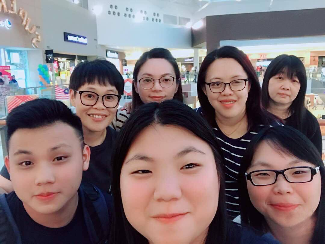 Tiong (bottom right) enjoys the quality time she spends with her relatives during their extended family travels. — CONNIE TIONG