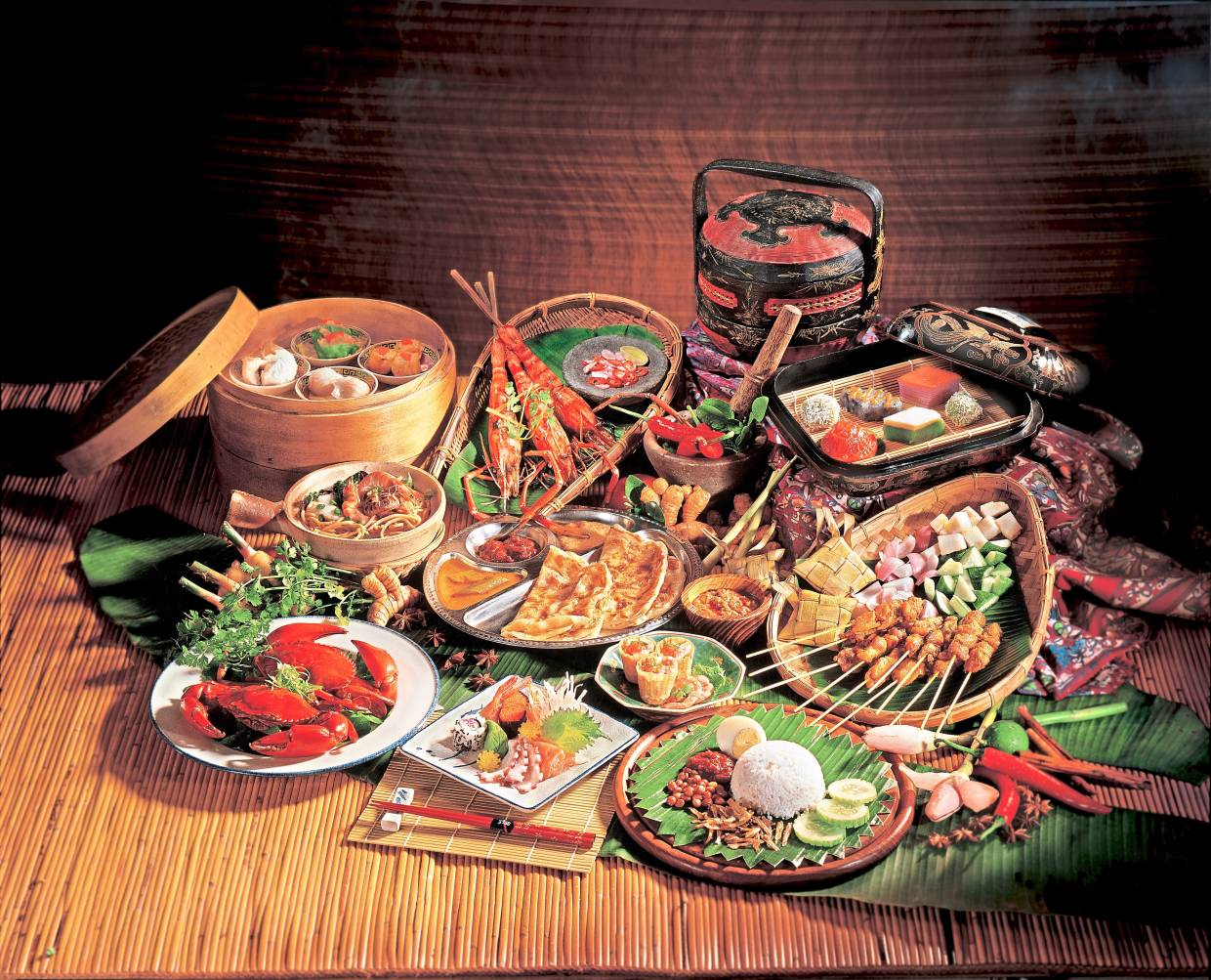 Malaysia's rich culture also includes a cornucopia of traditional food. You can learn to make some of these cuisines at a cooking class.