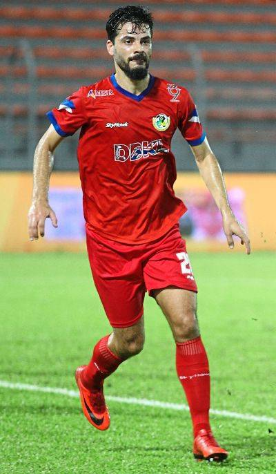 KL captain Paulo Josue is into his fourth season with the squad.
