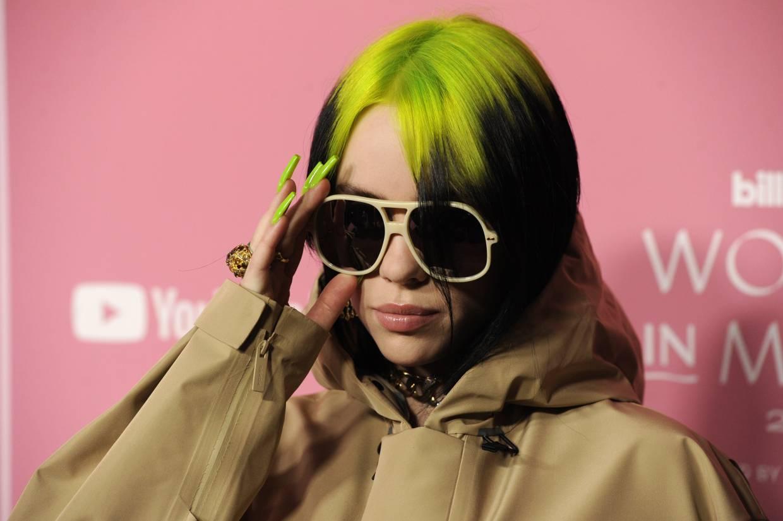 Billie Eilish at the American Music Awards in November 2019. Photo: AP