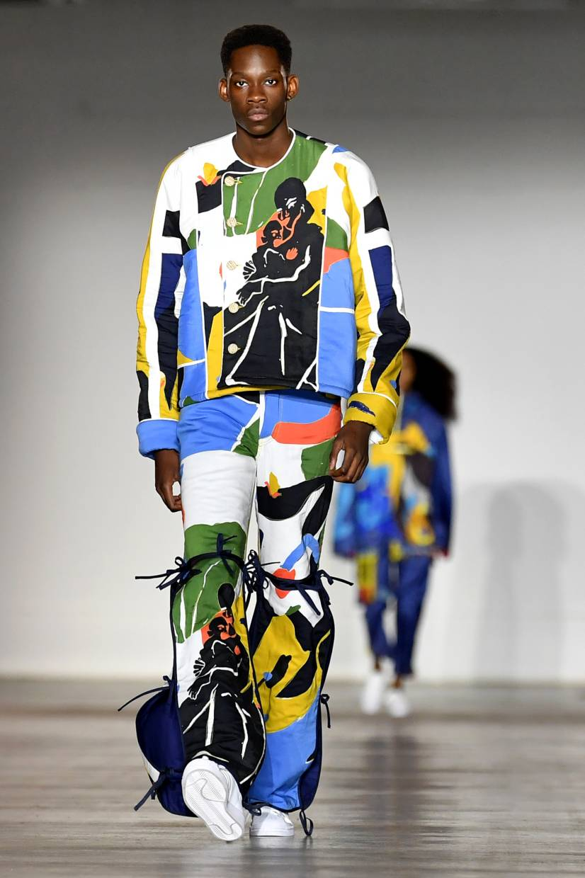 Young Designers Take Pride Of Place At The Autumn Winter 2020 London Fashion Week Men S The Star