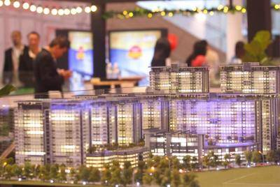 Star Property and LBS property events at Central I-city Mall at Shah Alam in Selangor in November 2019.