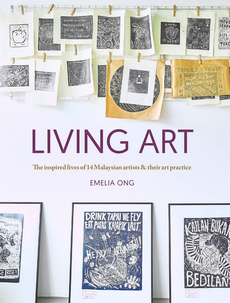 'Living Art' compiles interviews with 14 prominent local artists.