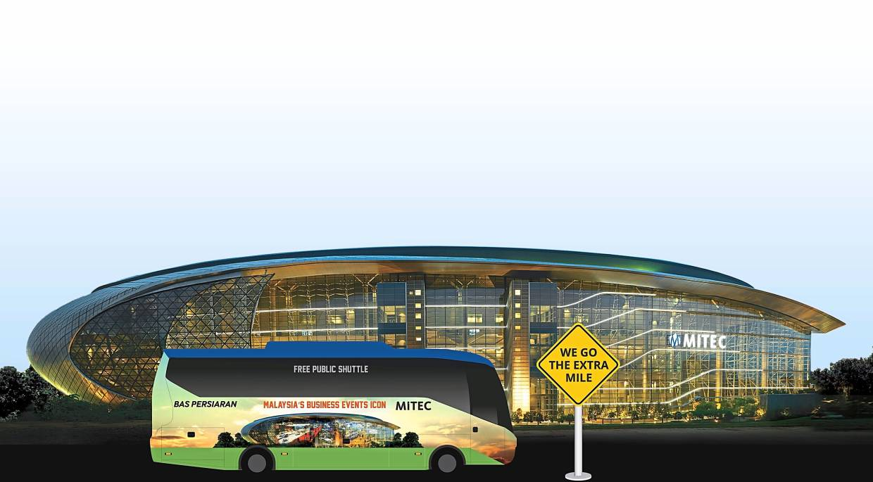 Going the extra mile with MITEC's complimentary shuttle service.