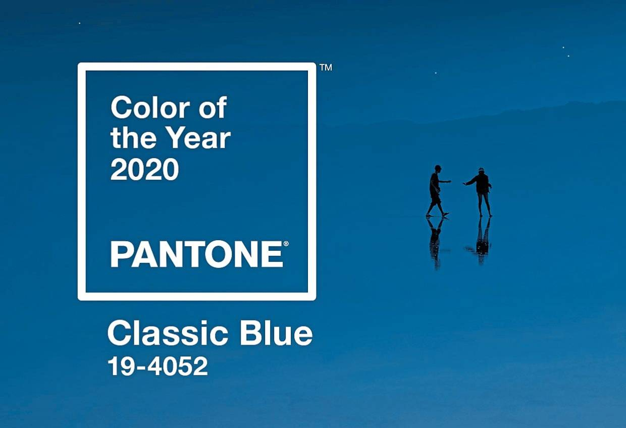 Classic Blue is Pantone's Colour of the Year for 2020. - Pantone