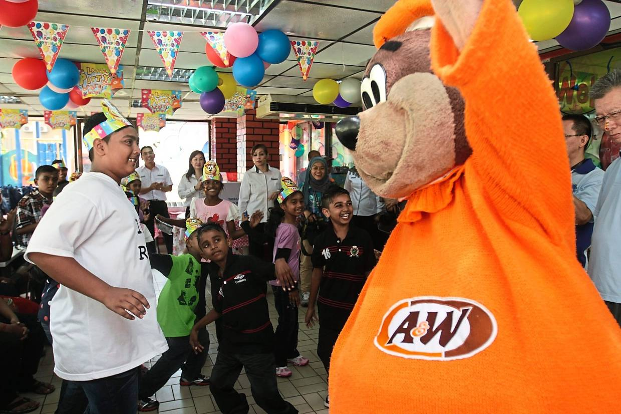 Expanding again: There are currently 49 A&W outlets in Malaysia. The company plans to open 20 more outlets this year.