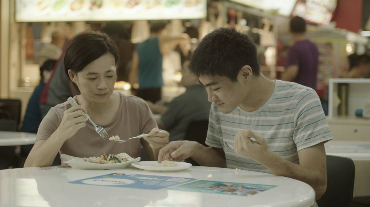 In 'Invisible Stories', Yeo Yann Yann plays a burnt out and financially drained single mother struggling to cope with her 19-year-old son with autism. Photo: HBO Asia