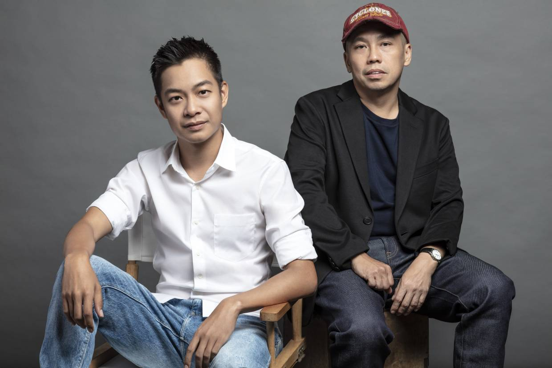 Malaysia's Quek Shio Chuan (left) and Ho Yuhang direct the six-episode series.