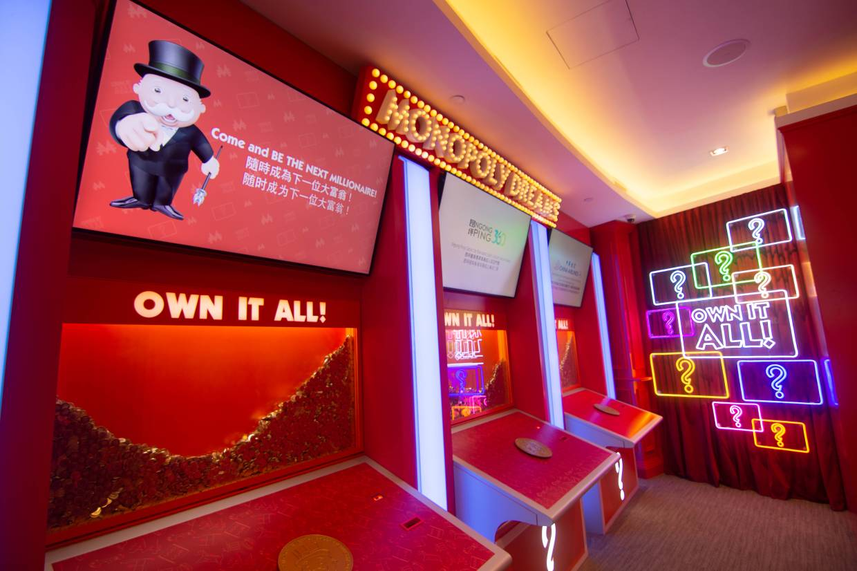 Monopoly Dreams invites visitors to Mr Monopoly's home city and secret residence.