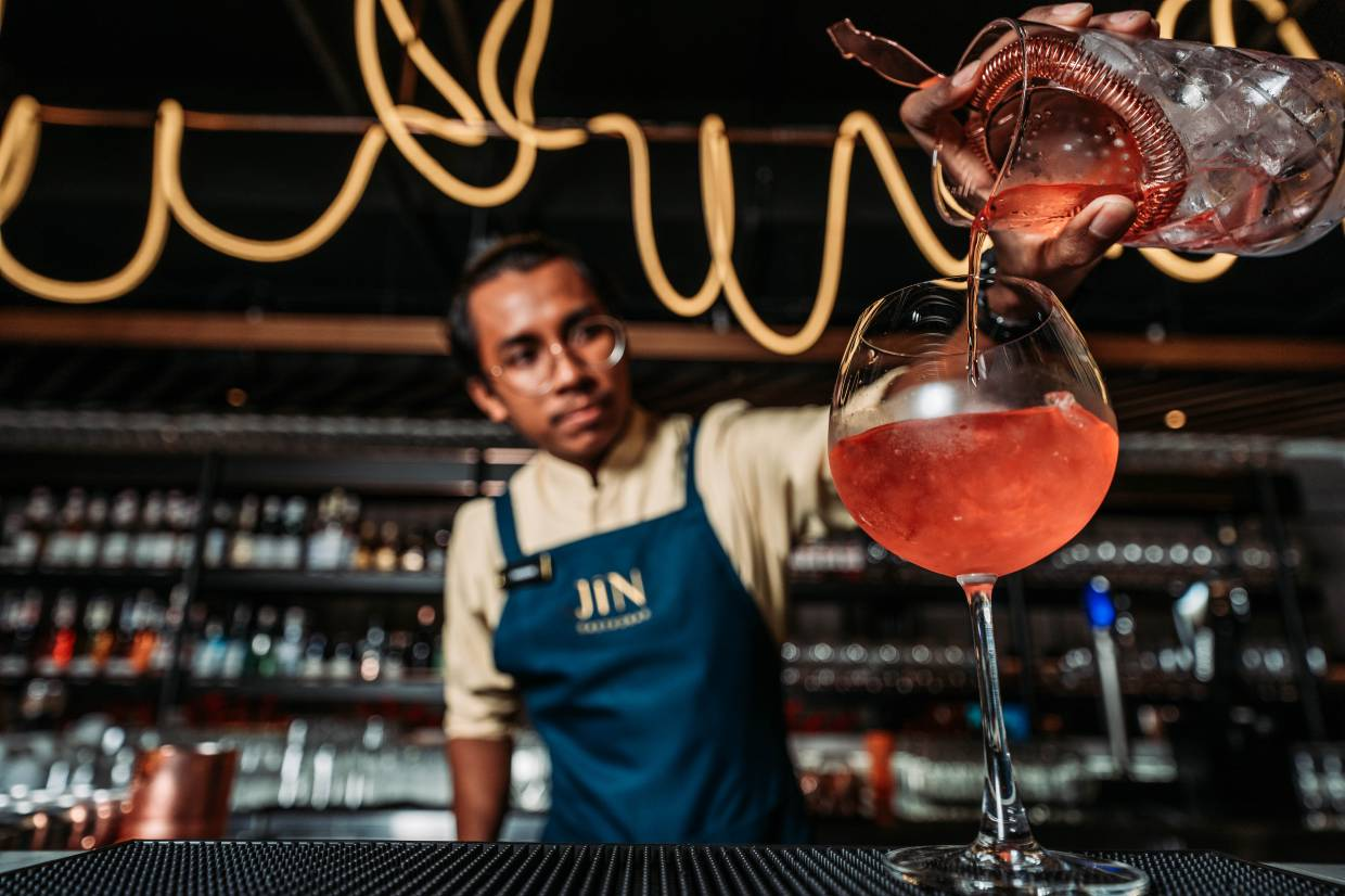 Jin Gastrobar serves up a variety of drinks and dishes