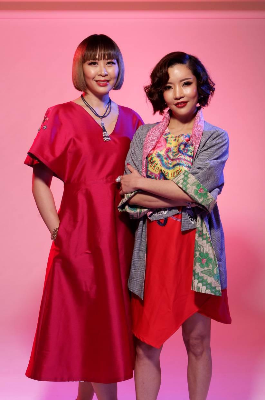 Lim Ai San (left) and Dorothy Ng