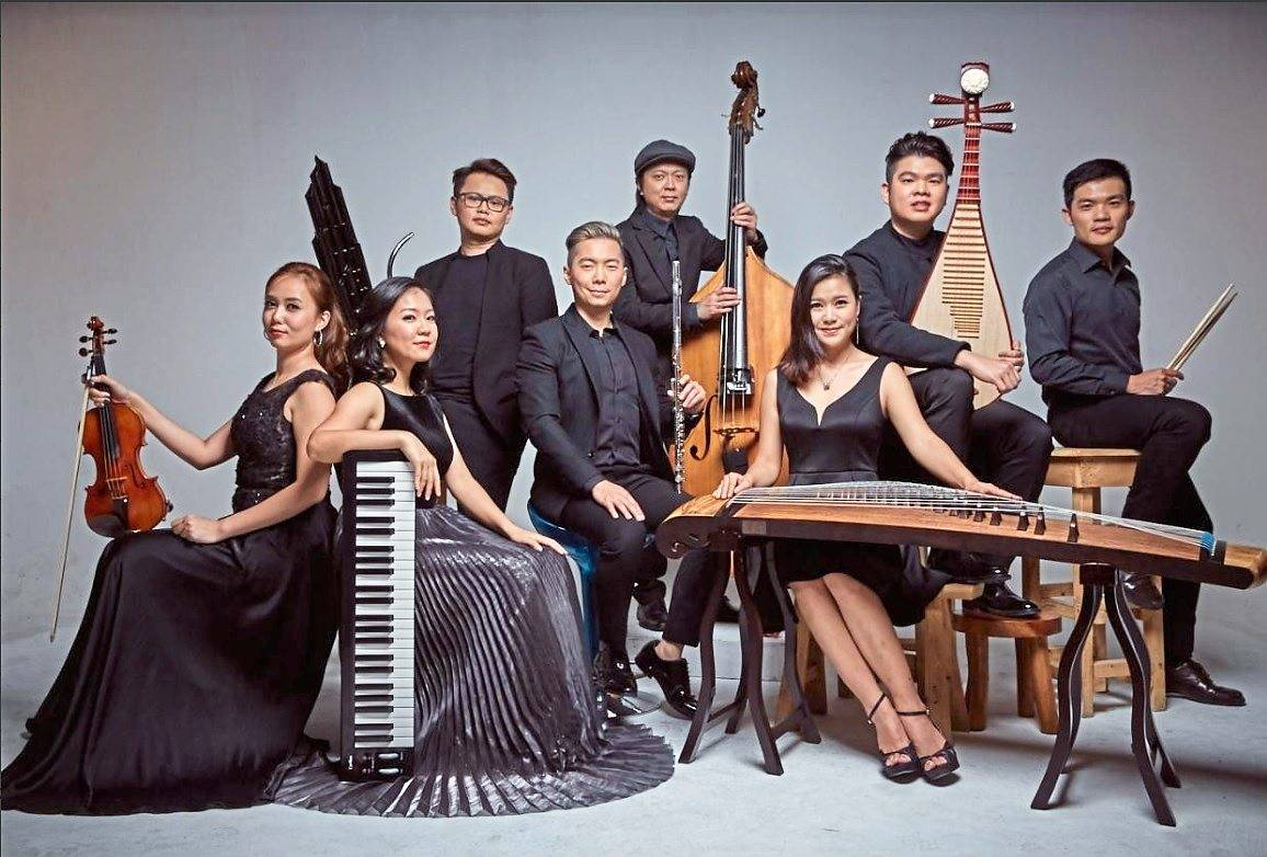 Chinese instrument ensemble Eight Twelve will be playing at this year's DPAC Spring Festival 2020. Photo: DPAC