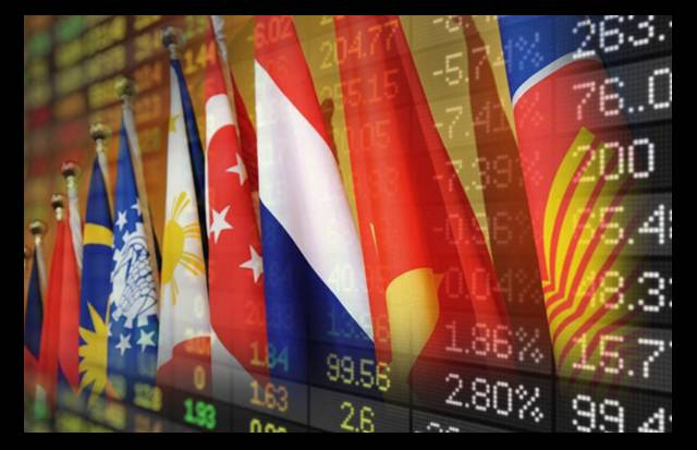 Most Southeast Asian stock markets gained ground on Thursday after the United States and China signed an interim trade deal, while Philippine shares were under pressure due to the threat of a volcanic eruption near its capital city.