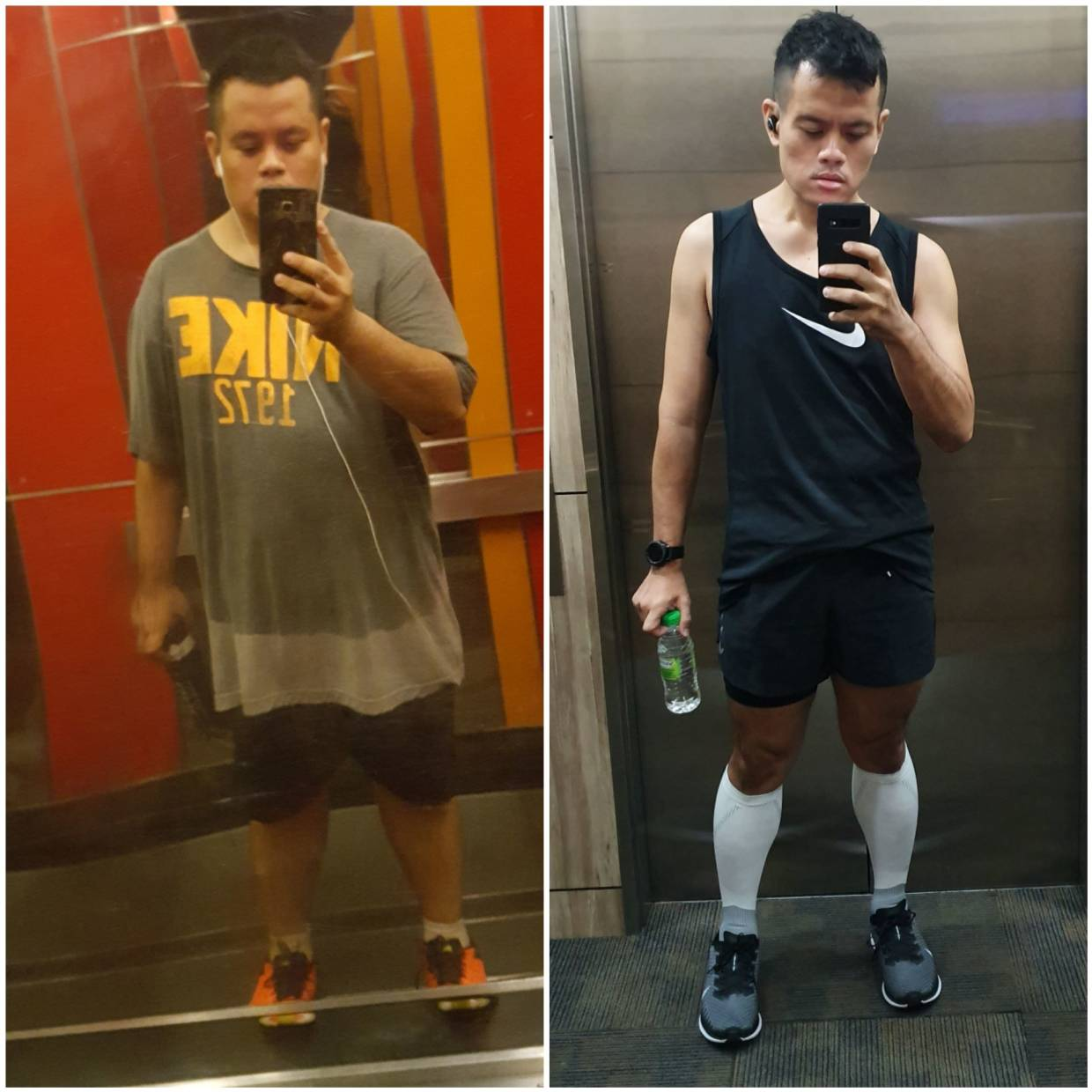 After he was diagnosed with diabetes, Amri decided to change his lifestyle. He started walking and then running and now, he works out almost daily. He has lost 50kg as is the fittest he has ever been in his life.