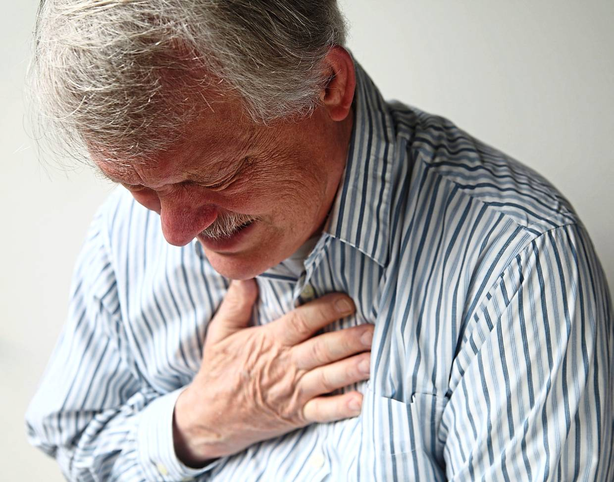 A heart attack is one of the possible serious consequences of catching the flu. — TNS