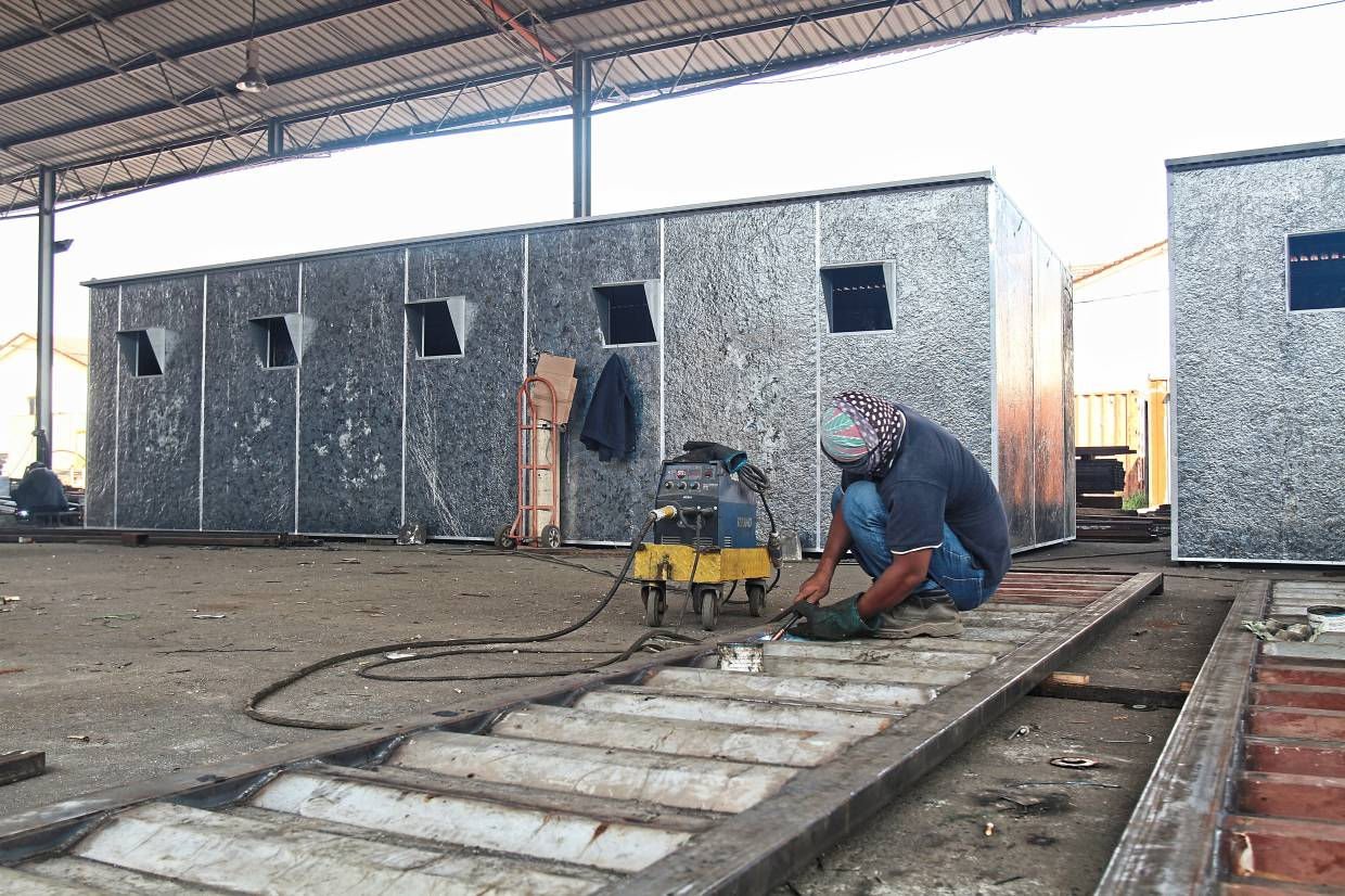 Potential growth segment: The company is looking at building prefab homes for a more sustainable source of income.