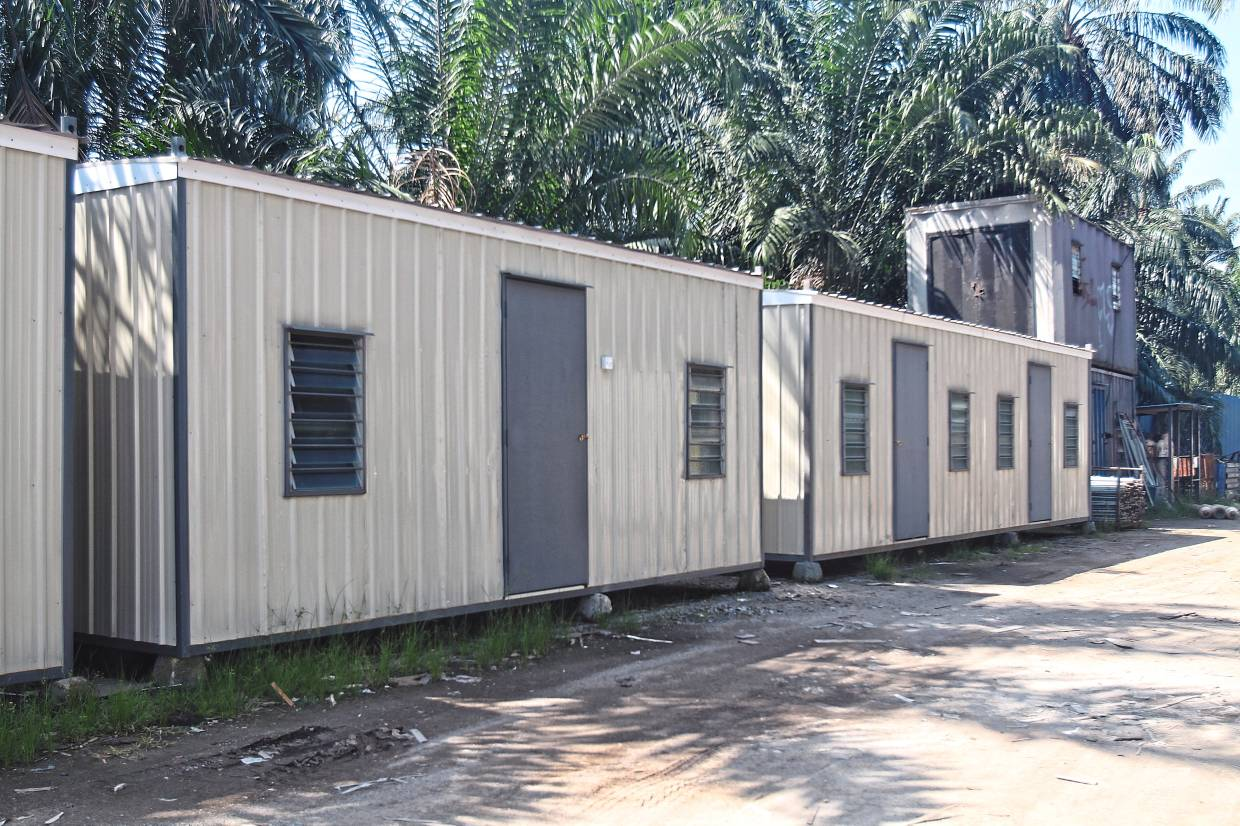 Temporary structures: A significant part of Solid Horizon's business comes from supplying construction sites with temporary facilities using its containers.