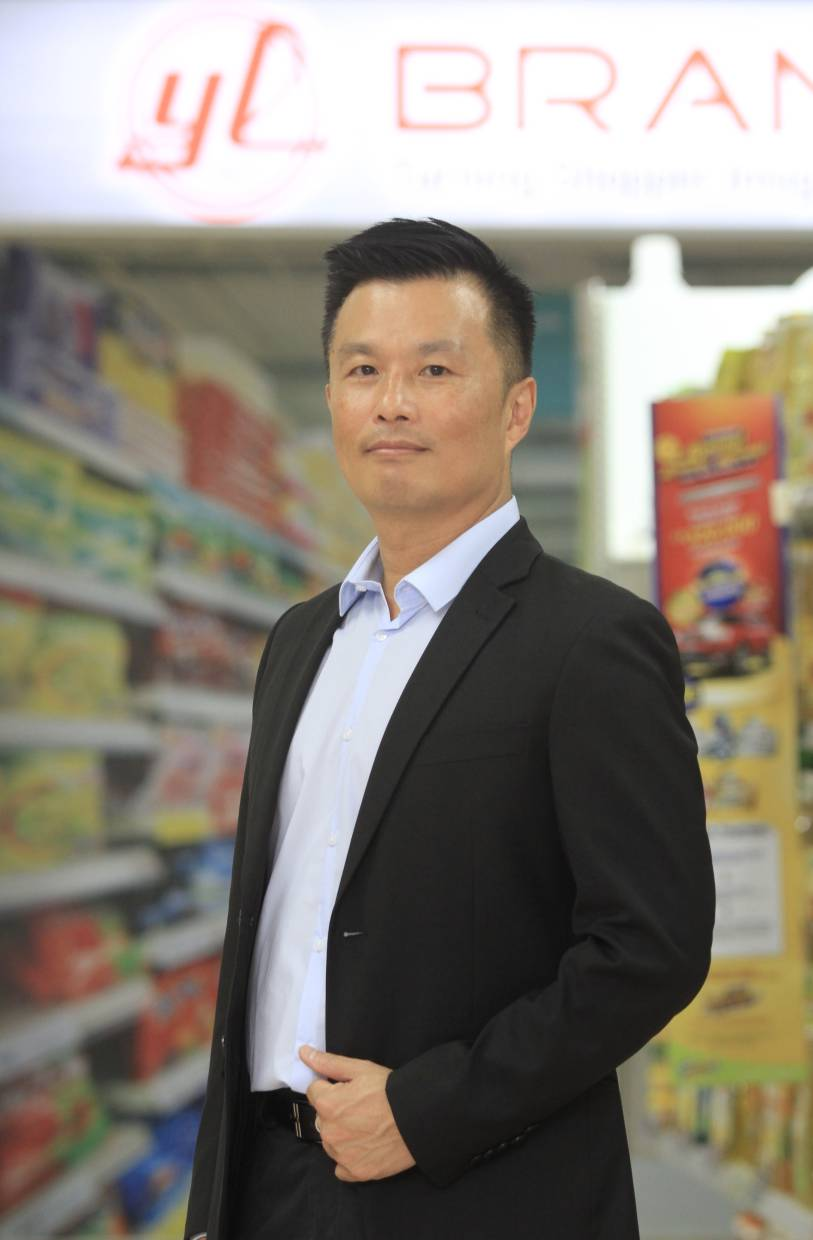 Yee Lee Corporation head of corporate branding Dominic Poh