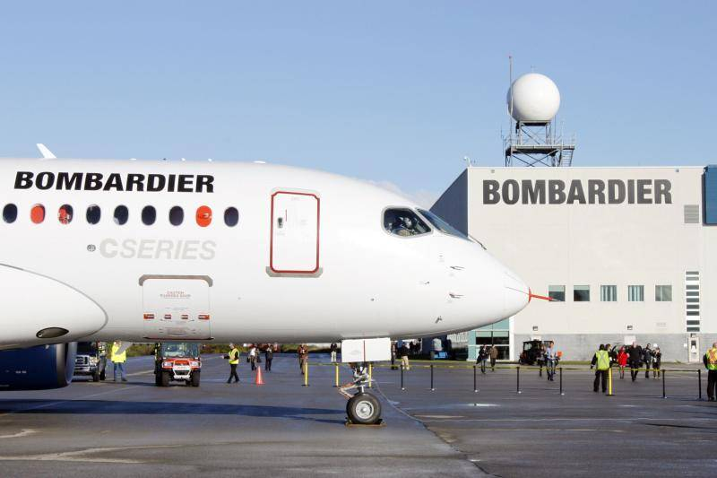 S&P, Fitch lower outlook on Bombardier to negative from stable