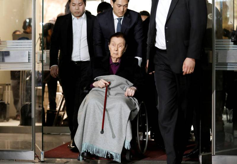 Founder of South Korea's Lotte business dynasty dies at 97