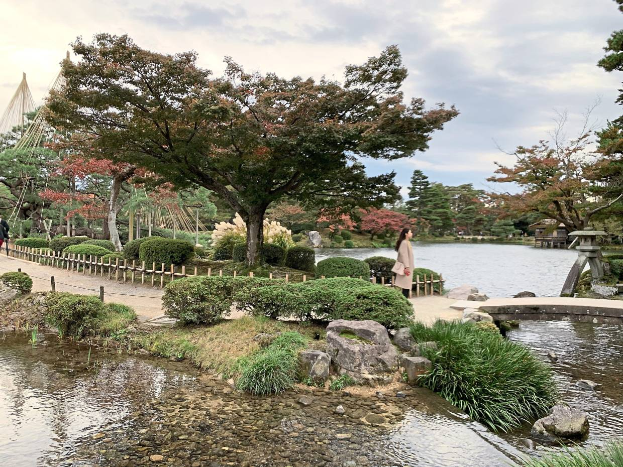 The Kenrokuen Garden could rival the Garden of Versailles in France with its winding streams, beautiful ponds, monuments and statues and historical tea houses. DINESH KUMAR MAGANATHAN/The Star