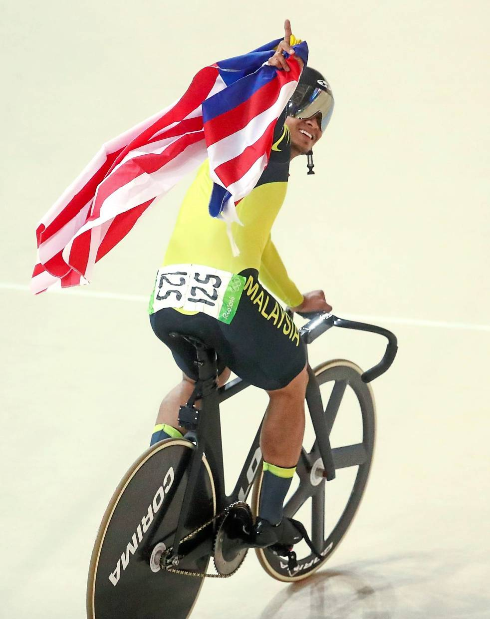 Looking for a boost: Azizulhasni Awang after his bronze medal win at the Rio Olympics.