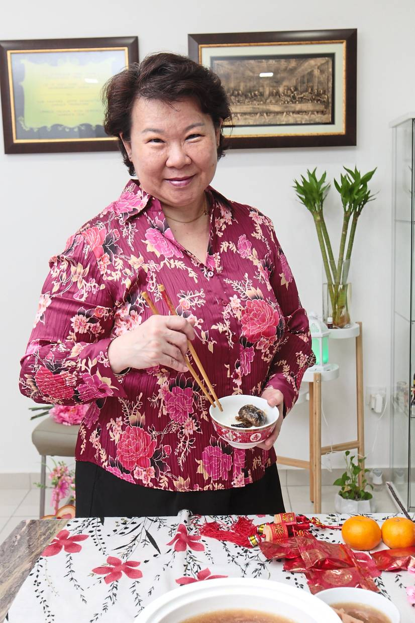 Chin says her CNY recipes are so simple that anyone should be able to replicate it at home with ease.