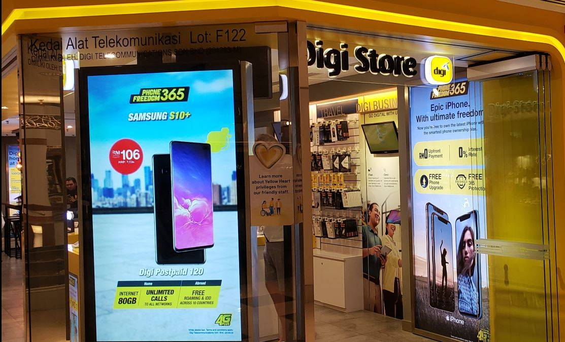 Digi announced a dividend of 4.40 sen for the fourth quarter bringing the total dividend for the year to 18.20 sen.