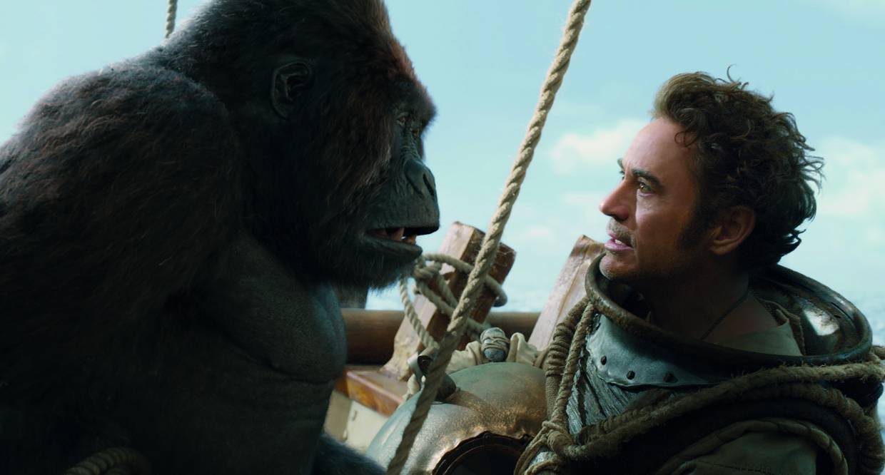 Little-known fact: King Kong Vs Iron Man was meant to be a romantic comedy.