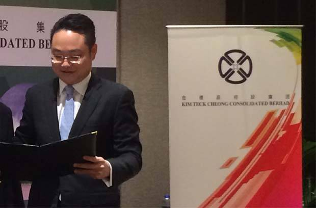 Shedding more light on the seemingly lucrative deal, KTC's executive director Dexter Lau(pic) tells StarBizWeek that it took them a whole six months to secure the licences.