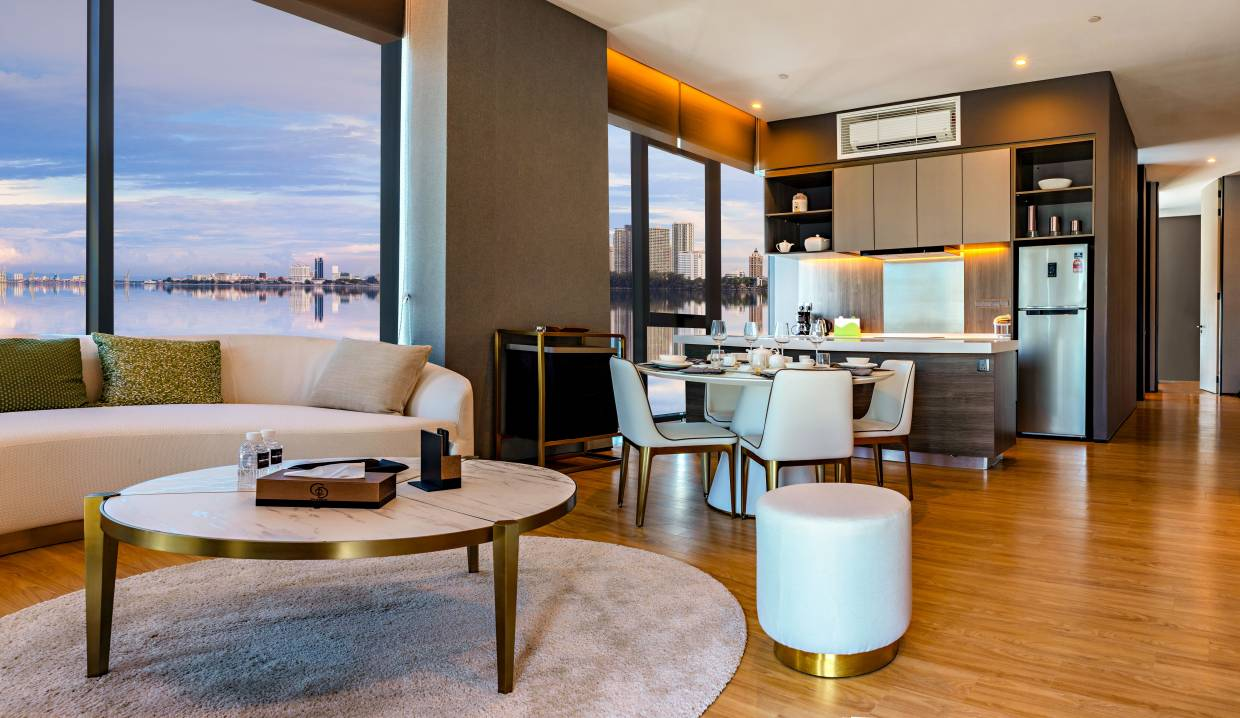 The residences interiors will have you feeling like living in a 5 star hotel