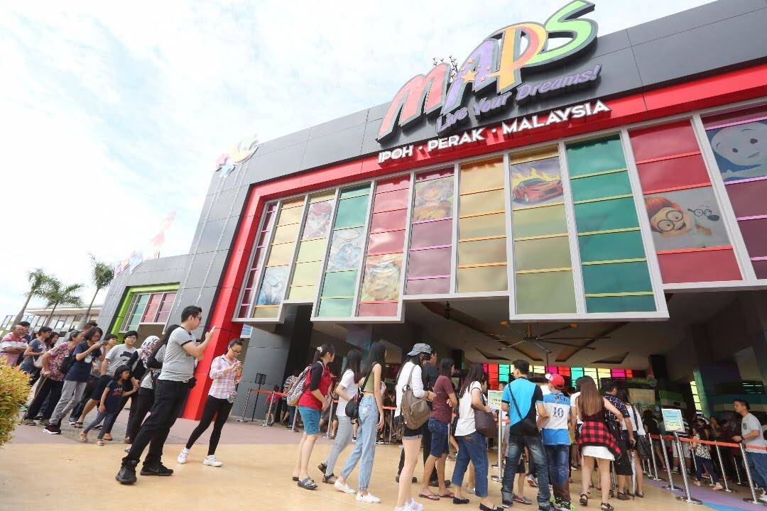 Maps Theme Park In Perak Closed Until Further Notice The Star