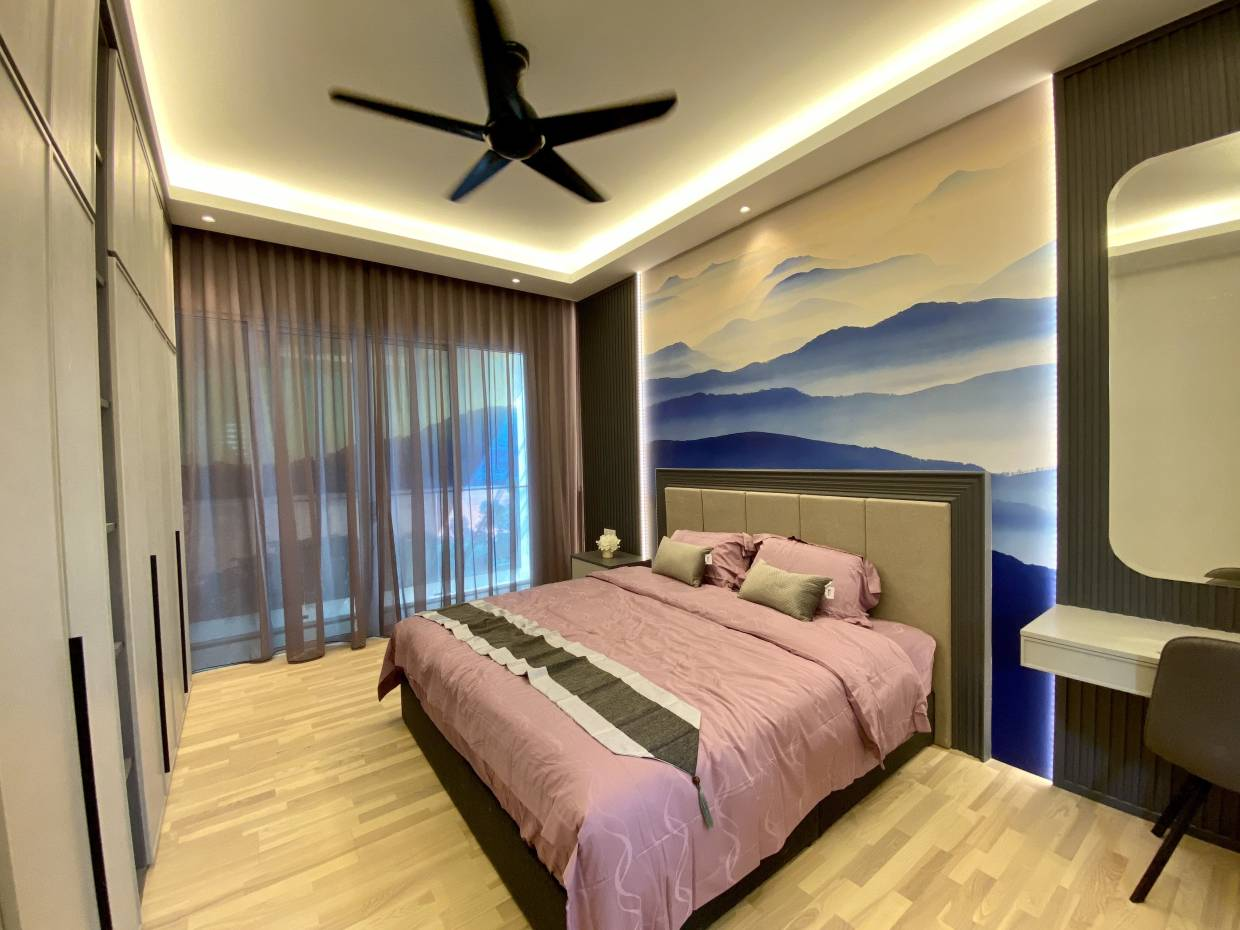 The bedrooms at QuayWest Residences are generously sized to offer lavish comforts.