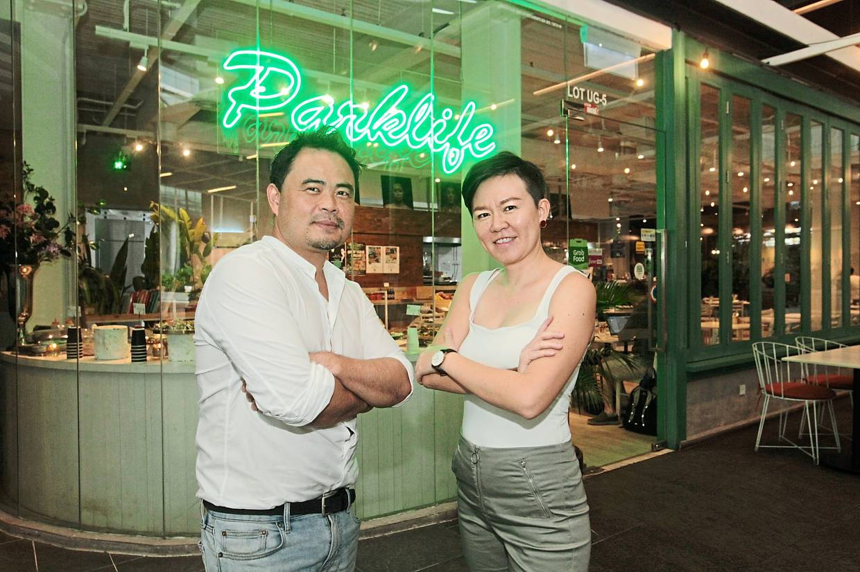 Ang (left) and Lim are cousins who decided to start Parklife together, following Ang's experience working in Yotam Ottolenghi's famed vegetable-centric restaurant.