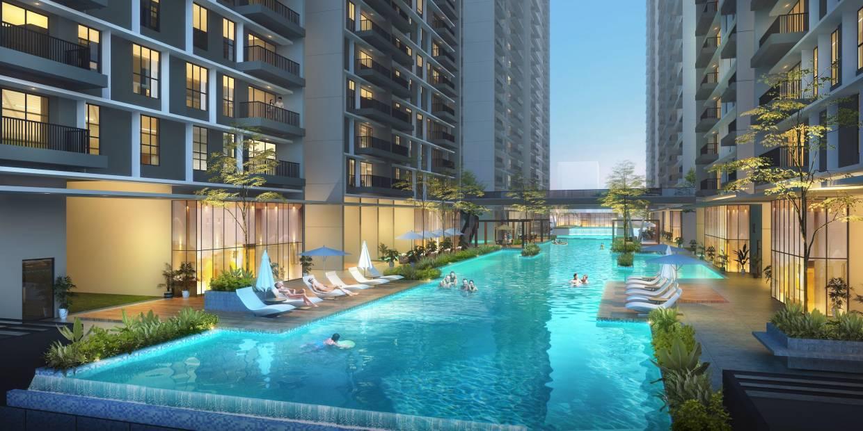 Vertu Resort is within walking distance to Ikea Batu Kawan.