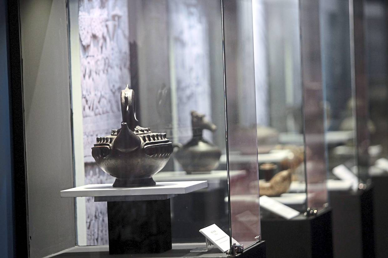'The Lost Kingdoms' exhibition at Muzium Negara features 103 artefacts from the 1st to 14th century AD, found in the Malay Archipelago. Photo: The Star/Art Chen