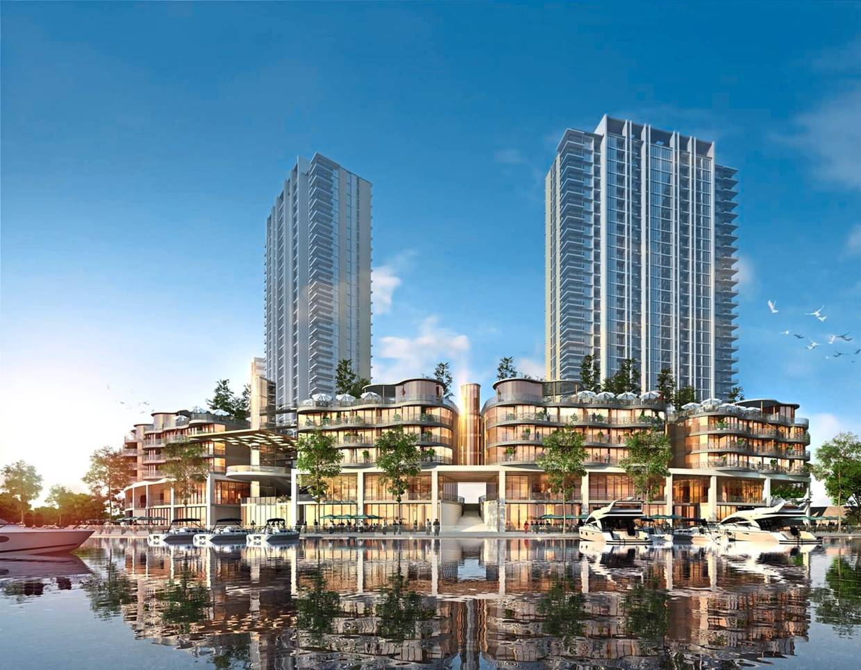 An artist's impression of the Terra project, which is Putrajaya's first premier lakeside lifestyle mixed development project. — Photos: RAJA FAISAL HISHAN/The Star and courtesy of Putrajaya Holdings and Putrajaya Corporation