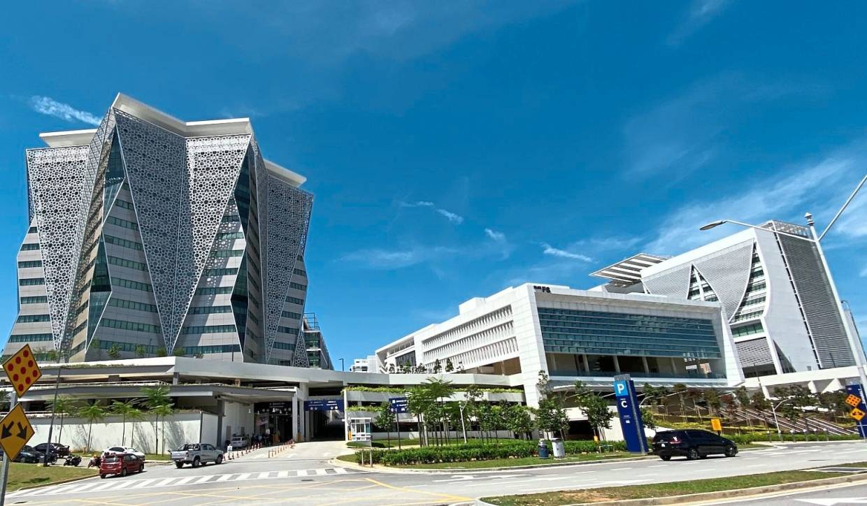 The completion of Parcel F marks the end of the planned construction of government buildings in Putrajaya.