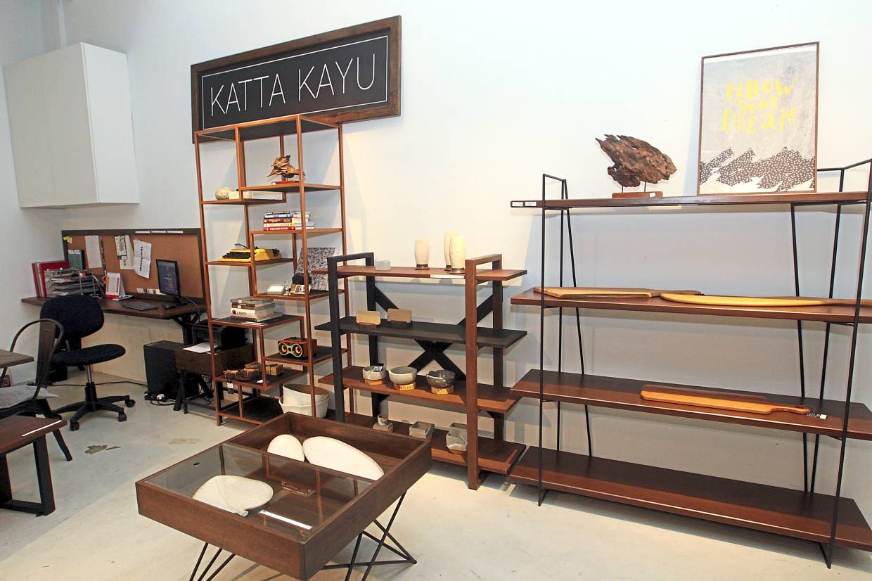 Consumer market: Moving into the retail space has enabled the duo to build the Katta Kayu brand.