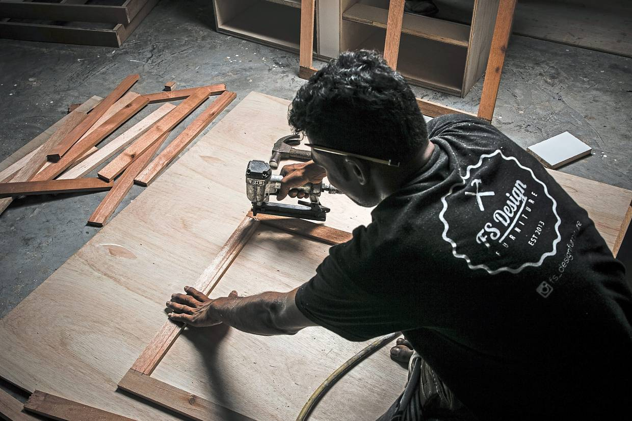 Rediscovering heritage: Fazli hopes his endeavour will inspire more Malays to give furniture making another look.