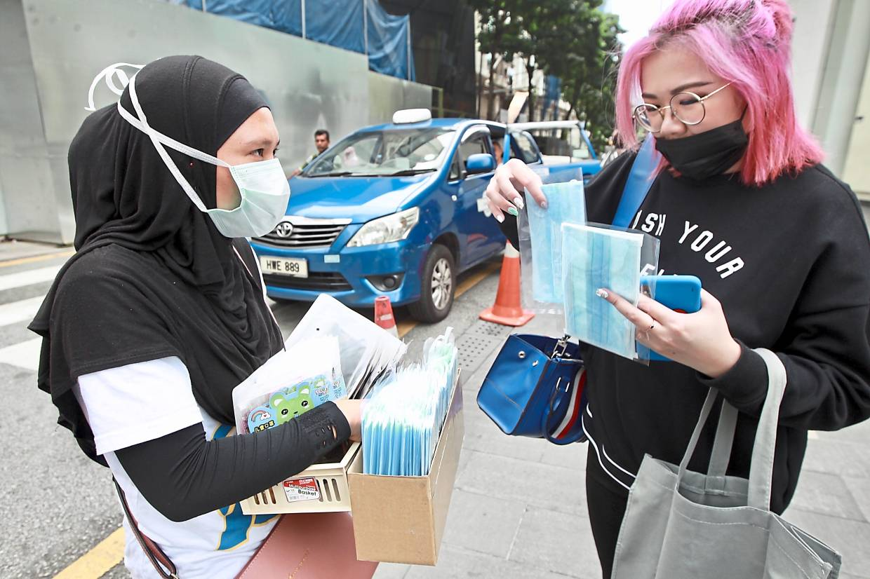 Online Pharmacies Star Face Of In Running The Out Masks Johor Baru