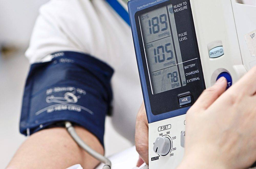 Many people are unaware that they have hypertension (high blood pressure), which increases their risk of a heart attack. Photo: AFP