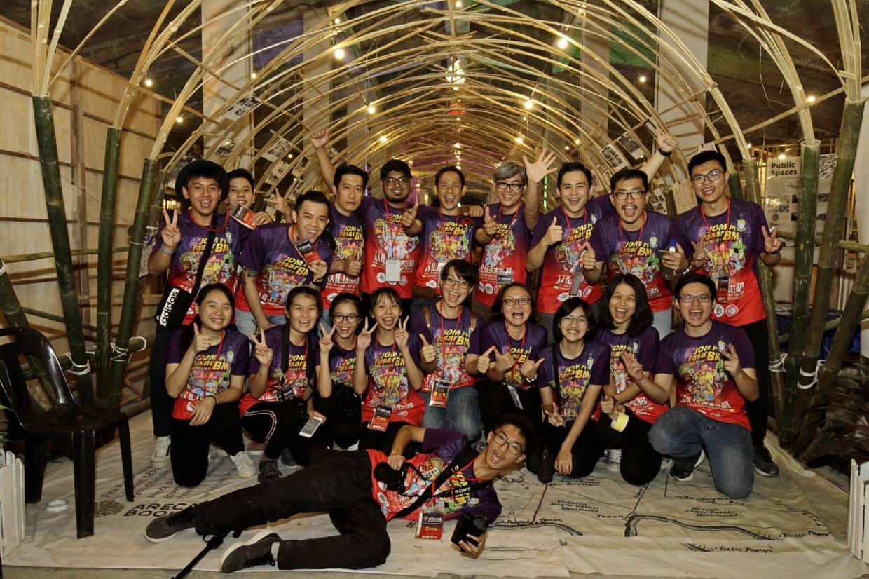 Committee members of Jom Pi Pasar BM at Bukit Mertajam market in Jalan Pasar in August 2018. Photo: Filepic.