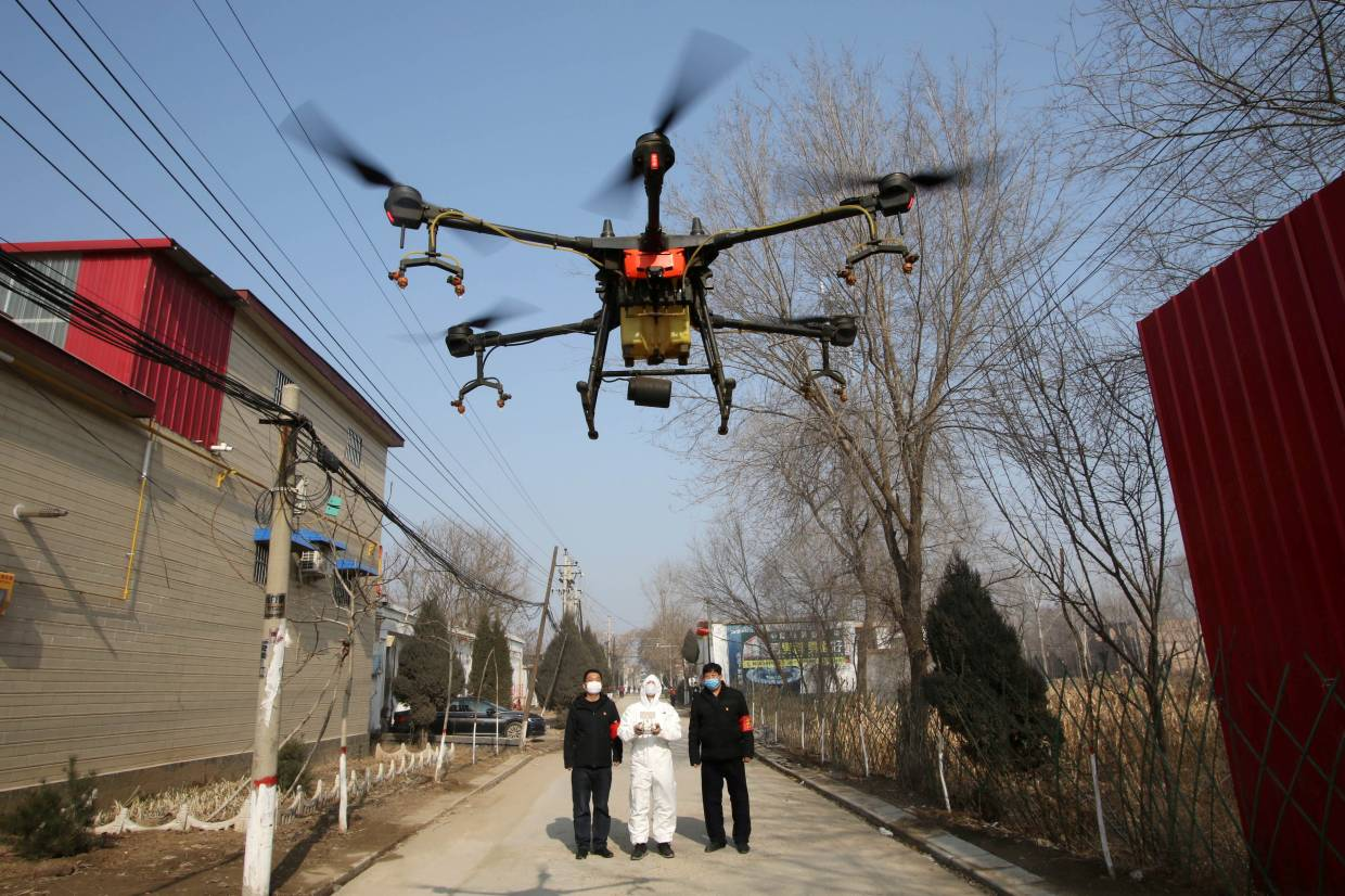 China is using Drones to Fight Coronavirus