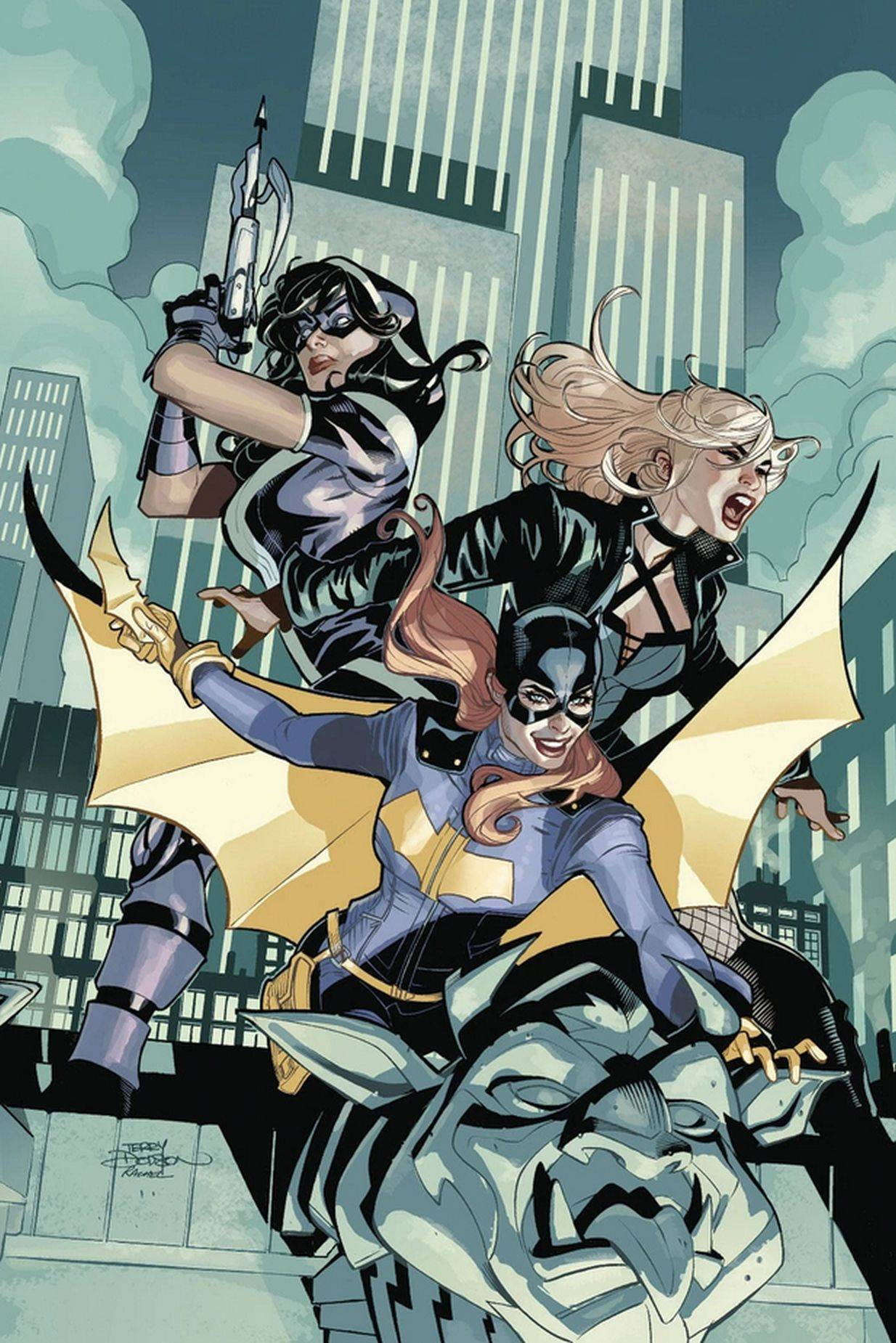 The original Birds of Prey was formed by Oracle/Batgirl, Huntress and Black Canary.