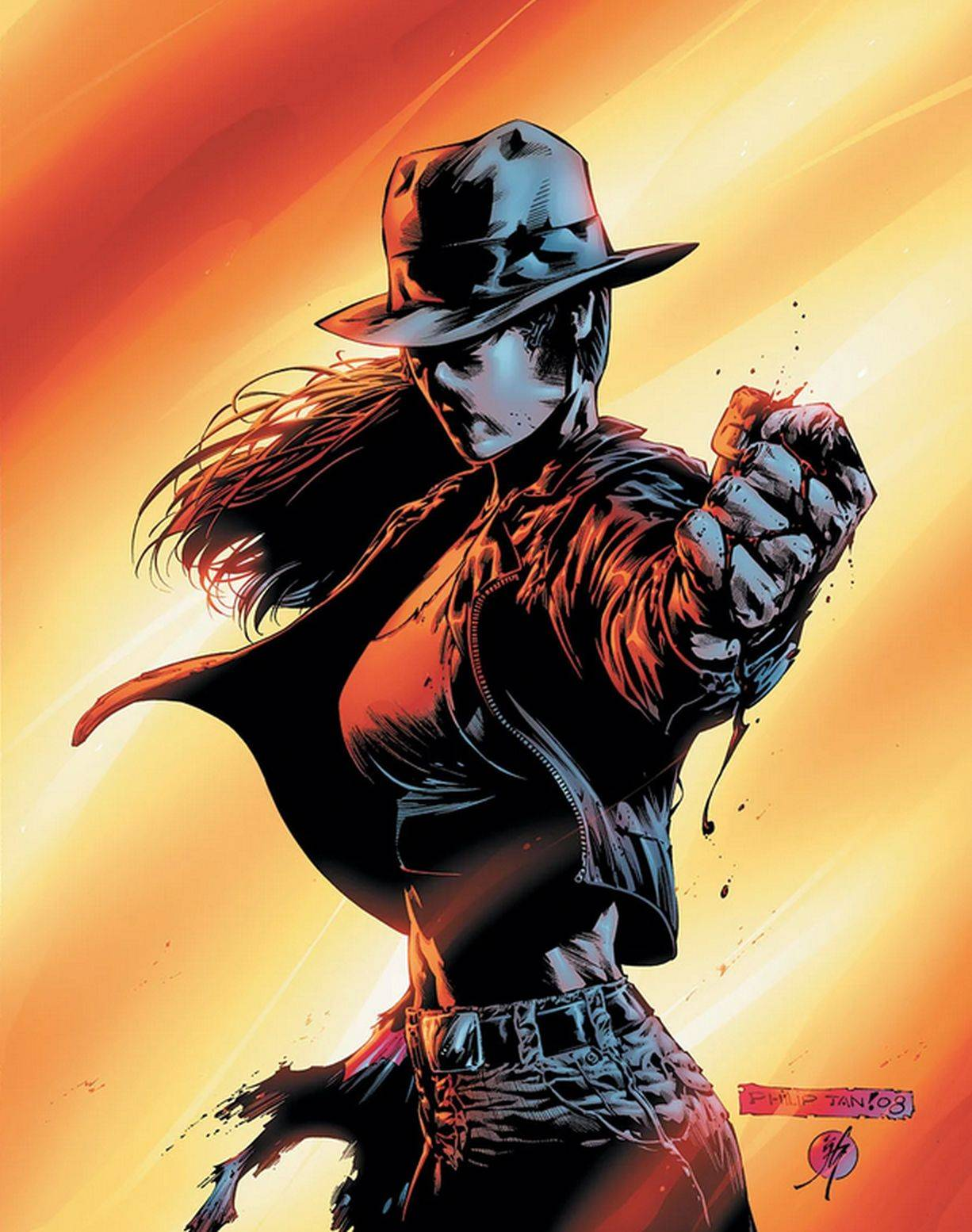 Renee started out as a detective with GCPD before eventually becoming The Question.