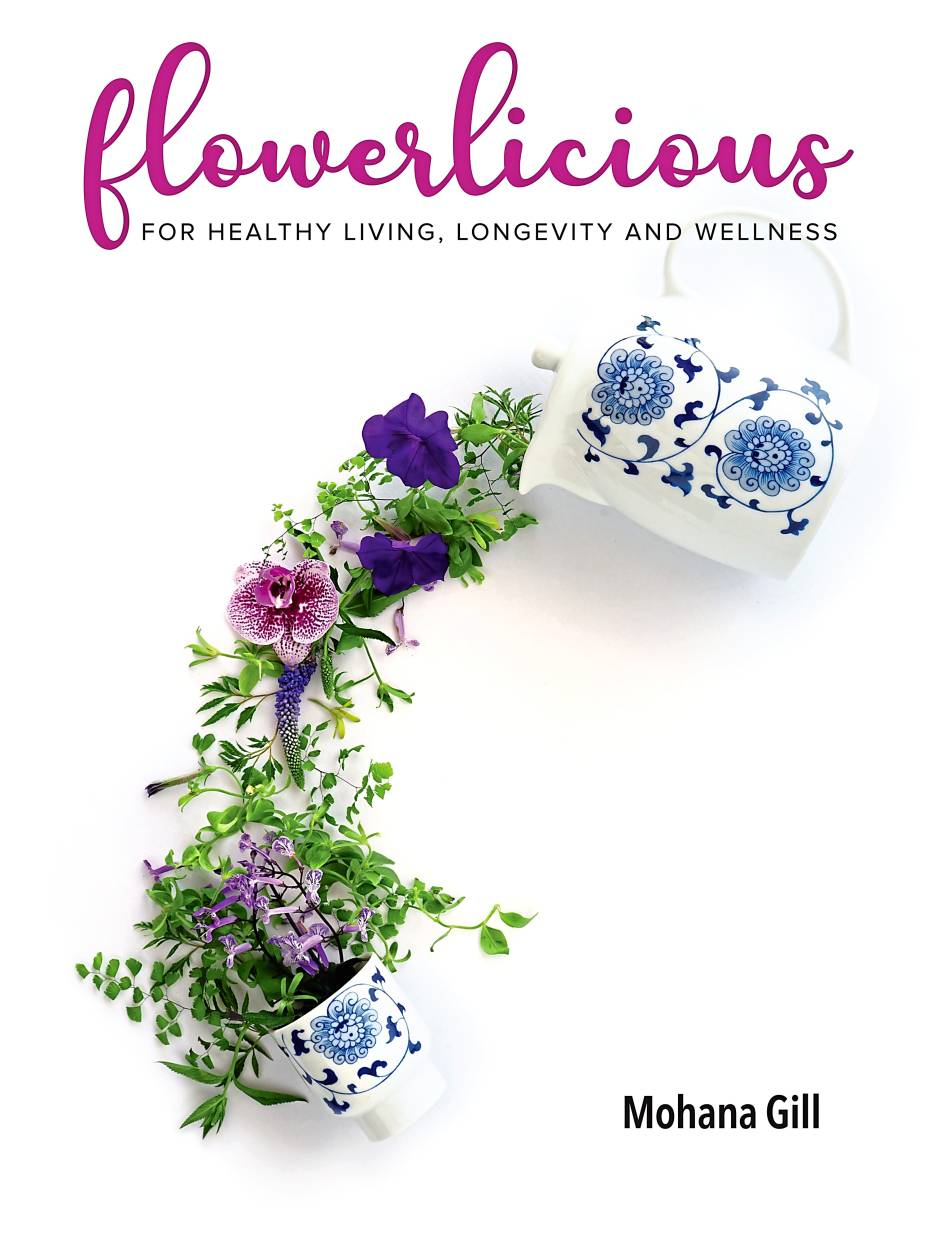 Flowerlicious took Mohana about three months to put together and will be the award-winning cookbook writer's final book.